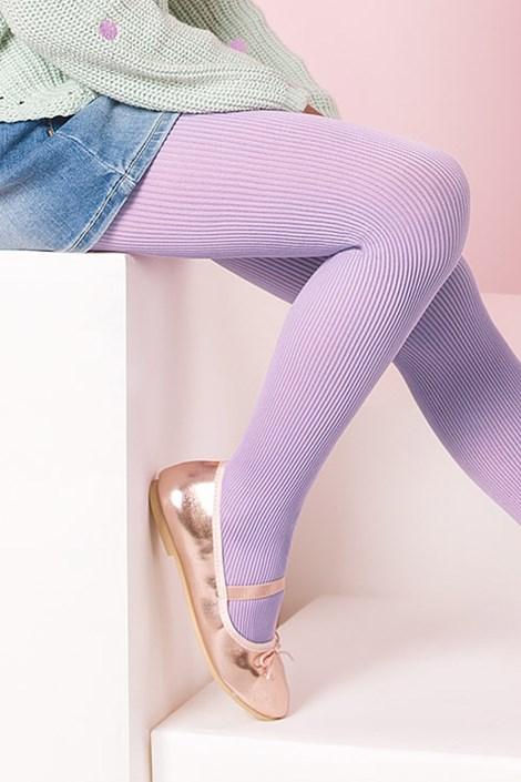 Gabriella Dívčí punčochové kalhoty Mela světlefialová 128-134