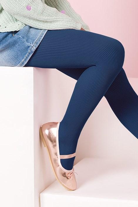 Gabriella Dívčí punčochové kalhoty Mela ink 140-146