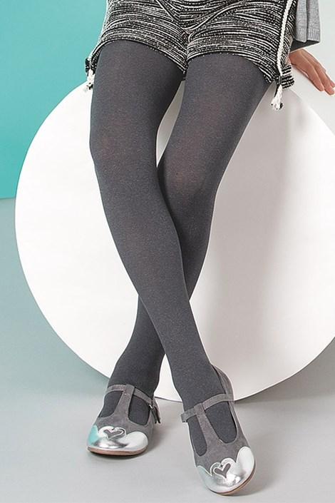 Dívčí punčochové kalhoty Melange
