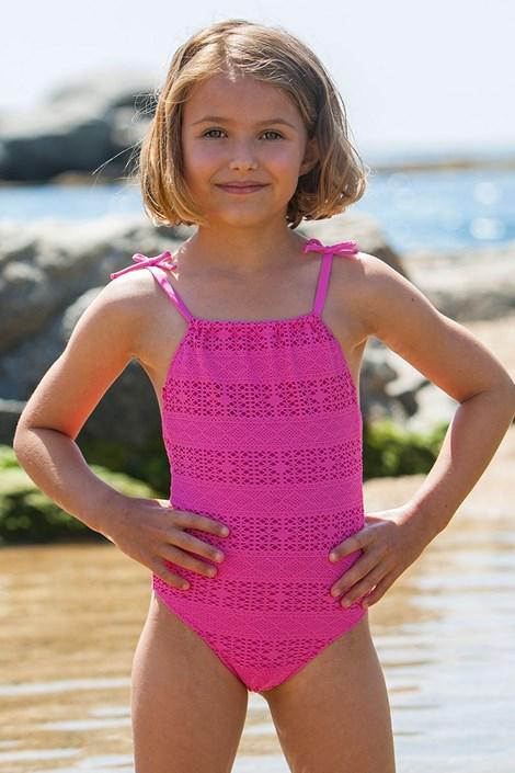 Bora Bora Dětské plavky Meres růžová 8
