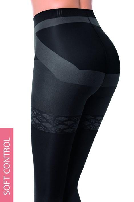 Envie Stahovací punčochové kalhoty MicroSlimUp 50 nero XL