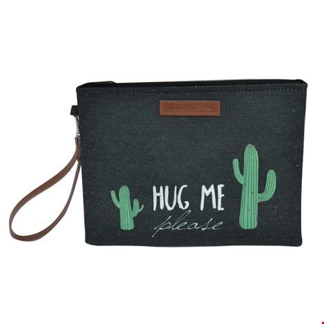 Mora Mora Mini taštička Cactus černá uni