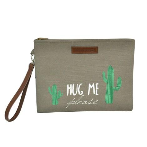 Mora Mora Mini taštička Cactus hnědá uni