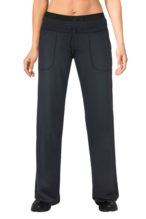 MrsFitness Dámské sportovní kalhoty WINNER Mirella černá S