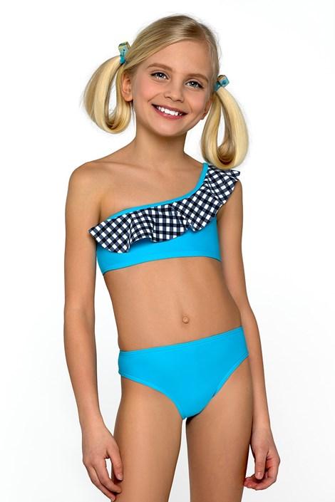 599b733b4a5 LORIN Dívčí plavky Mea tyrkysová 152