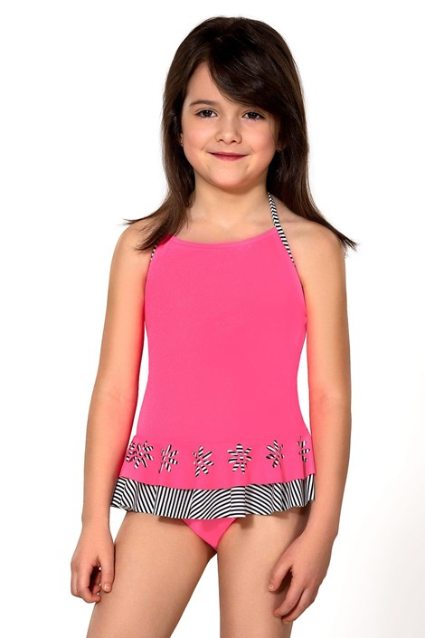 LORIN Dívčí plavky Ciana růžová 110