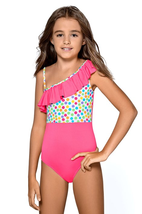 LORIN Dívčí plavky Reana růžová 146