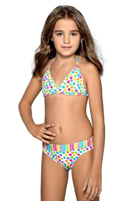 LORIN Dívčí plavky Verita vícebarevná 134