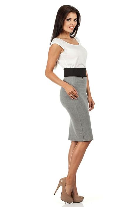 7326a1870e94 Dámská sukně s vyšším pasem Moe062