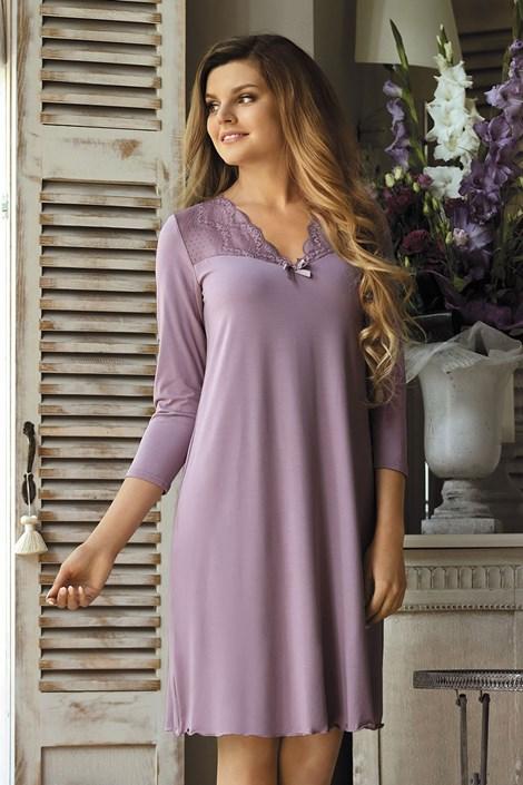 Babella Dámská košile Morgana Lavender světlefialová M