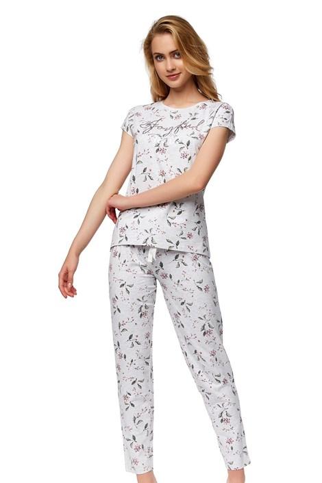Esotiq Dámské pyžamo Nessa šedá XL