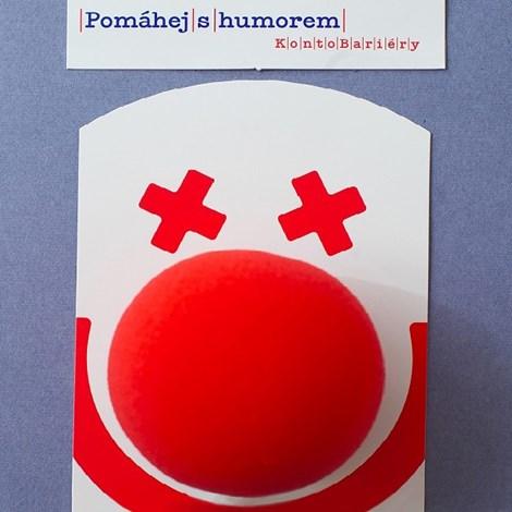 Konto Bariéry Nos pomáháme s humorem červená uni