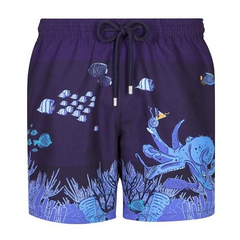 GRANADILLA Pánské koupací šortky GRANADILLA Ocean Life modrá XXL