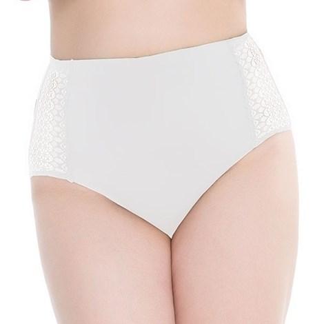 Julimex Kalhotky Opal Invisible bílá L