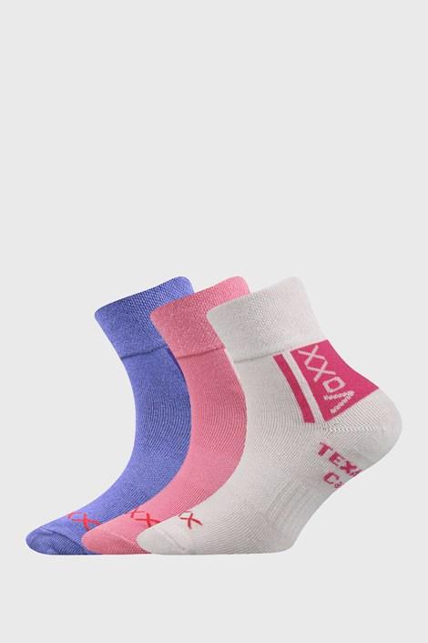 3 PACK dívčích ponožek VOXX Optifanik