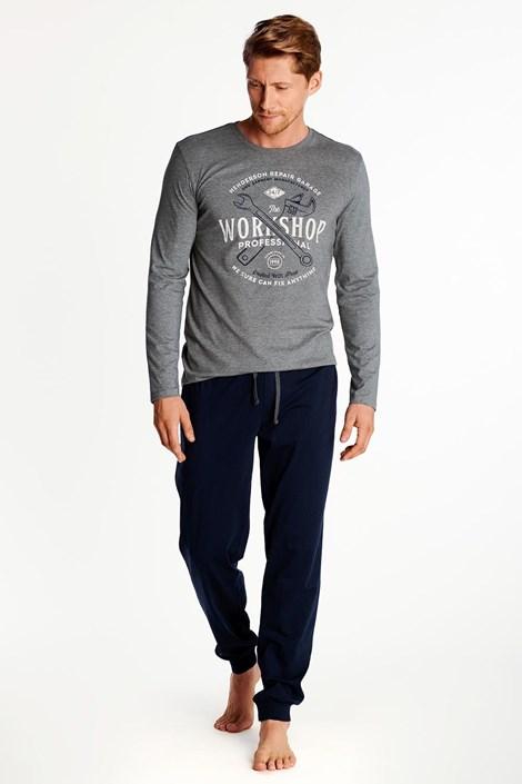 Sivo-črna pižama Owner