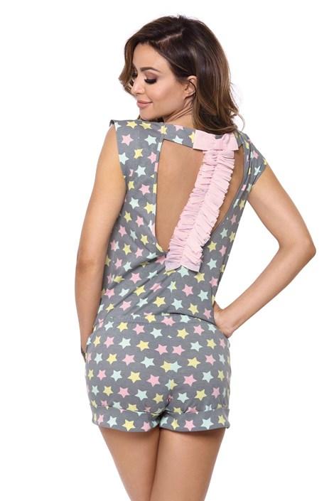 PIGEON Dámské pyžamo Susane šedé šedá XXL