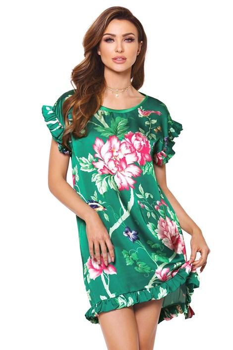 PIGEON Hedvábná košilka Cloe zelená S
