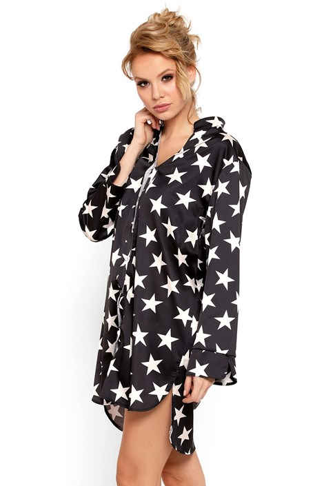 Luxusní saténová košilka Stars