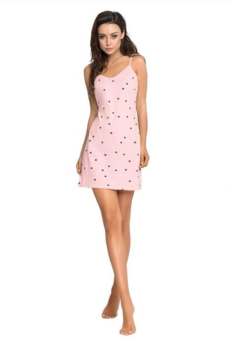 PIGEON Dámská noční košilka Sandra růžová XL