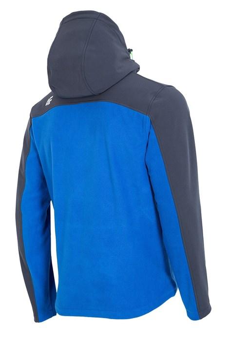 Pánská mikina 4F Softsheel Blue