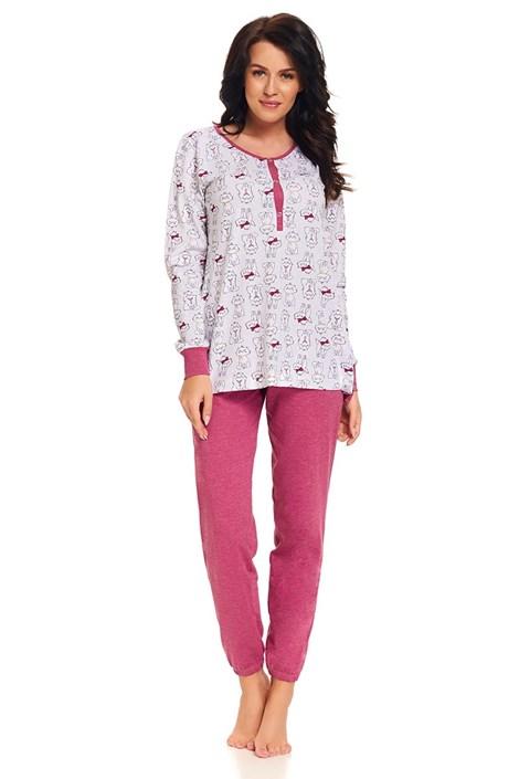Dobra nocka Mateřské, kojicí pyžamo Loren barevná L