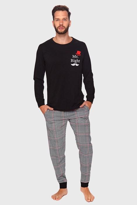 Czarna piżama Gerald