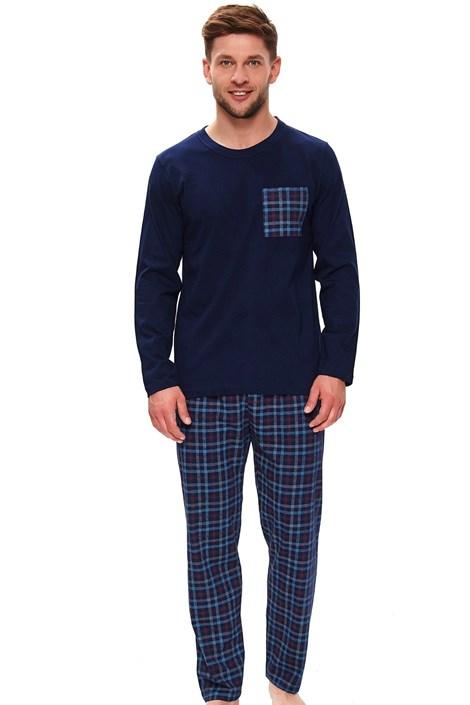 Doctor Nap Pánské pyžamo Rudy nám.modrá XXL