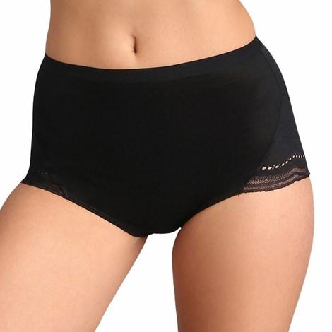 Playtex Kalhotky Secret comfort vyšší černá 38