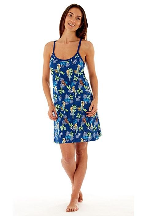 Selena Secrets Dámská noční košile Blue Parrot navy 8/10