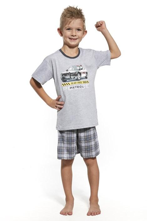 Cornette Chlapecké pyžamo Patrol šedá 98/104