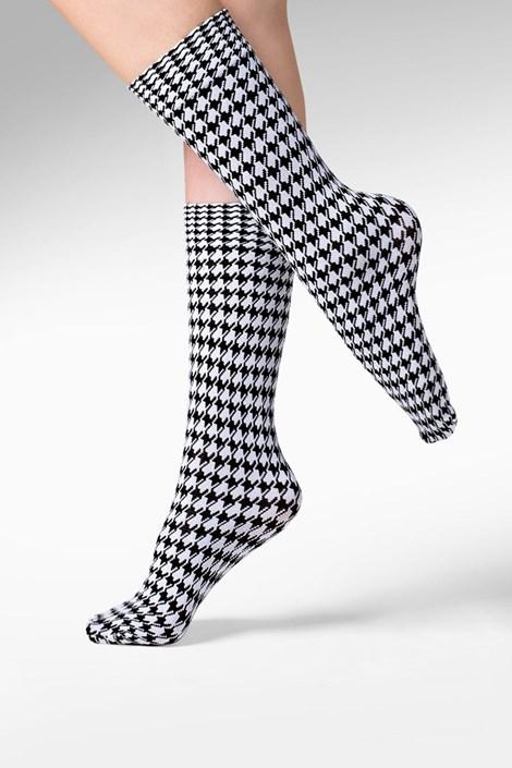 Gabriella Dámské ponožky Pepi černobílá uni