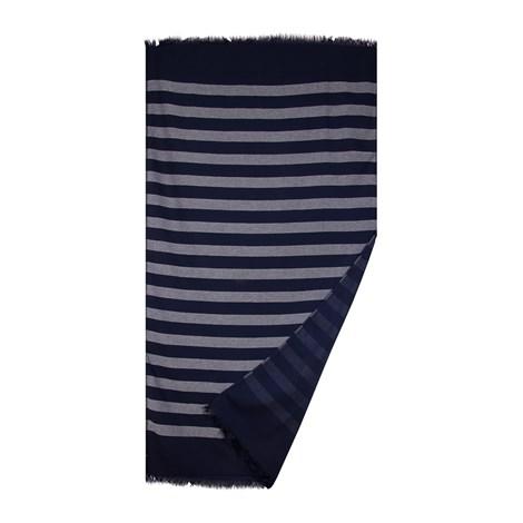 Le Comptoir De La Plage Plážová deka Navy modra 90x160