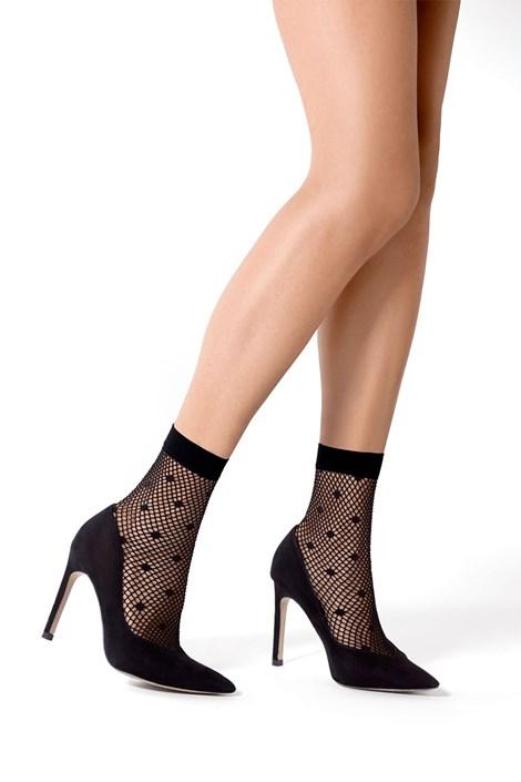 MONA Dámské ponožky Puretina nero uni