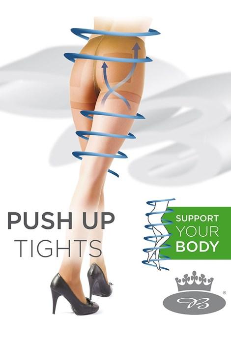 Boma Dámské punčochové kalhoty s Push-Up efektem Relax béžová M