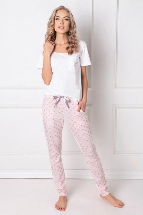 Aruelle Dámské pyžamo Queen dlouhé bílá XL