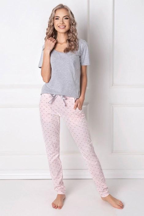 Aruelle Dámské pyžamo Queen dlouhé šedá XL