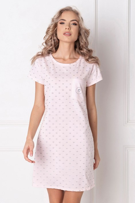 Aruelle Dámská noční košilka Queen růžová XL