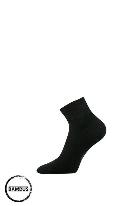 Lonka Ponožky Raban bambusové černá 35-38