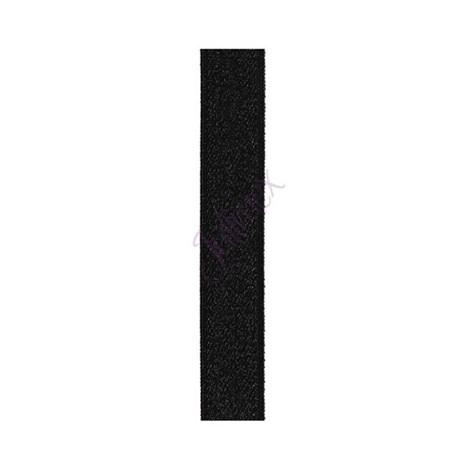 Textilní ramínka 14 mm černá