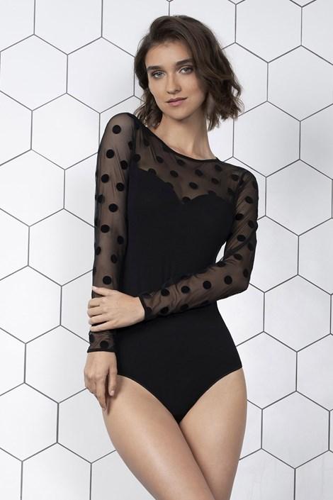Gatta Dámské body Rebecca černá XL