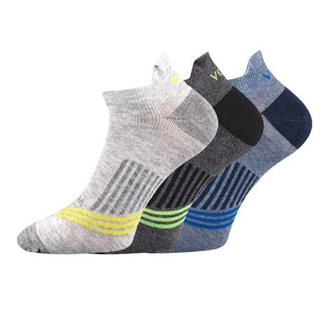 VOXX 3 pack ponožek Rex 12 barevná 39-42