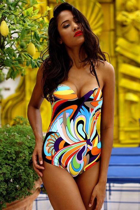 Toccata Dámské jednodílné plavky Rio BPw barevná 42