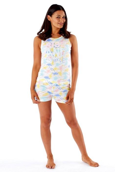 Selena Secrets Dámské pyžamo Tropical barevná 8/10