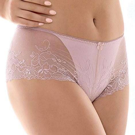 Dama Kier Kalhotky Roxana Pink francouzské růžová XL