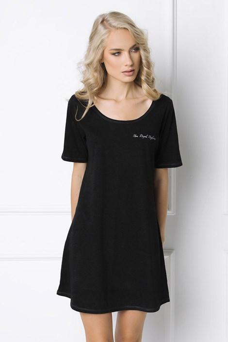 Aruelle Dámská noční košilka Royal černá S
