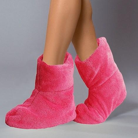 Hřejivé bačkory Pink