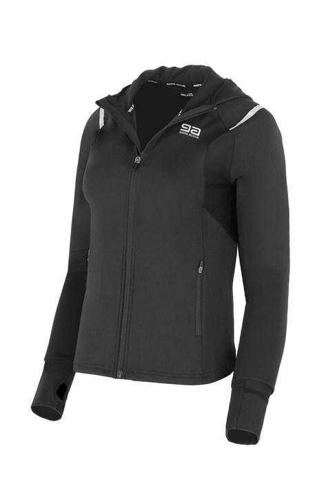 Gatta Dámská sportovní bunda GATTA Active Hoodie černá S