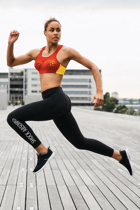 Shock absorber Dámské sportovní legíny Active černá XL