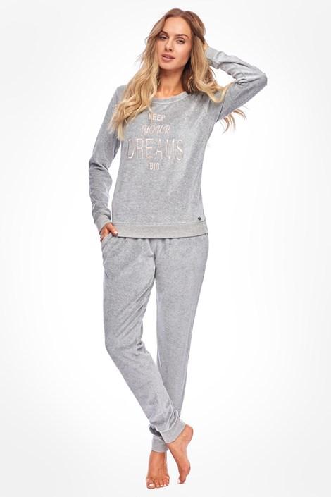 Rössli Dámské pyžamo Sabrina šedá XL